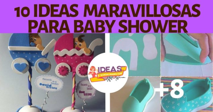 10 Ideas Maravillosas A Bajo Coste Para Crear Un Baby Shower De Revista
