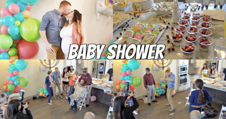 BABY SHOWER!!!  👼🏻 | DECORACION | JUEGOS | VLOG
