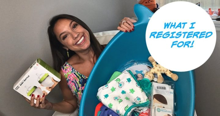 BABY SHOWER HAUL 2019 | WHAT I REGISTERED FOR | FIRST BABY