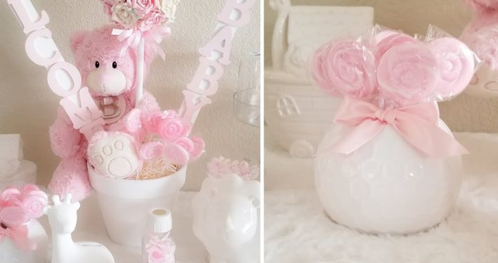 BABY SHOWER IDEAS! | 3 QUICK AND EASY GLAM DIYS 2019