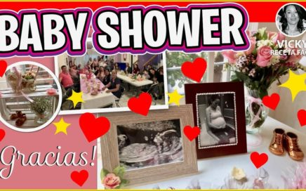 BABY SHOWER Vicky Receta Facil