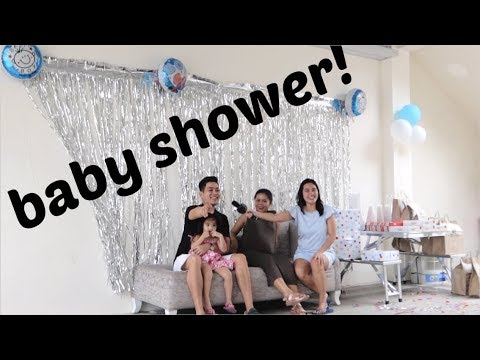 BABY SHOWER (Vlog#205: August 11, 2019.) | Anna Cay ♥
