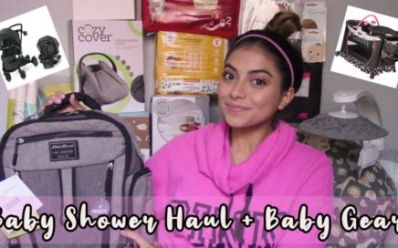 🧸Baby Shower + Baby Gear HAUL🎀
