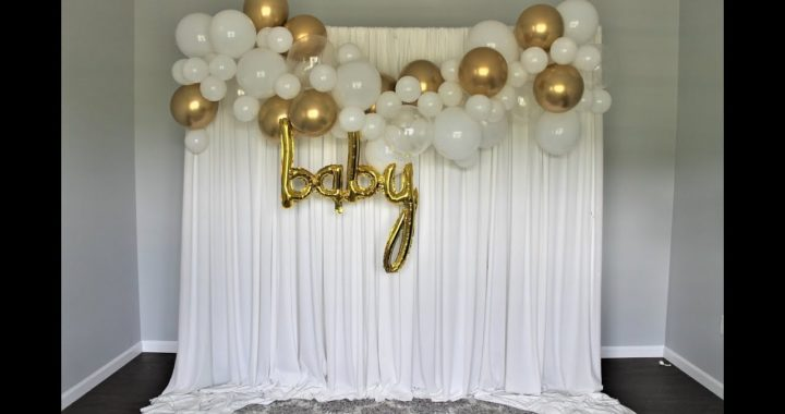 Baby Shower Balloon Garland DIY | How to | Review