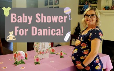 🎀Baby Shower For Danica| What I got For Danica 🎀