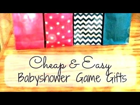 Baby Shower Games and Prizes Ideas 👣🍼