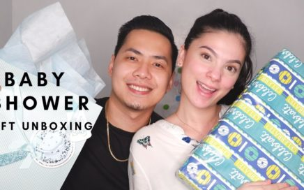 Baby Shower Gifts Unboxing | Days with Kath