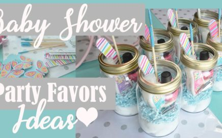 Baby Shower Party Favors Ideas under $5!! (Dollar Tree DIY)