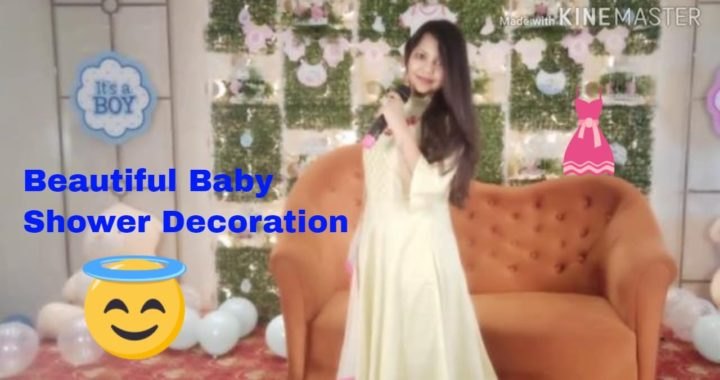 Baby shower decoration and more ideas/ Creative Apurva Jain/ Godh bharaai decoration