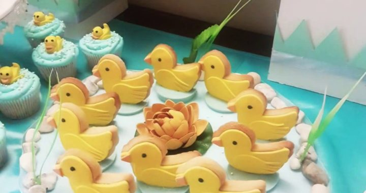 Baby shower ideas rubber duck theme