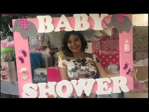 Baby shower vlog // Teen mom at 17
