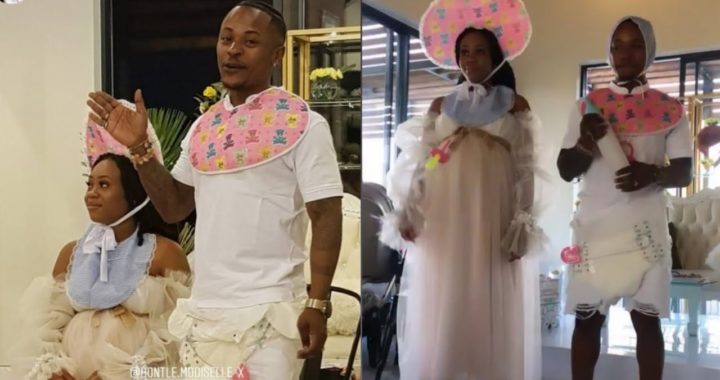 Bontle and Piddy Ugly's baby shower #rickjade🤰👼