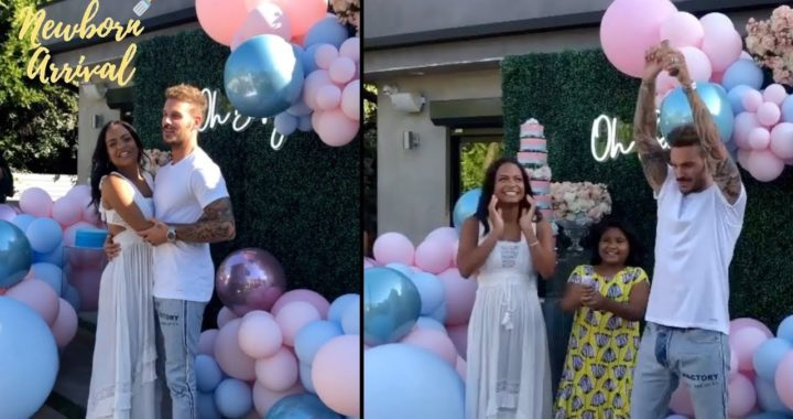 Christina Milian & Matt Pokora Host Gender Reveal Baby Shower! 👶🏽