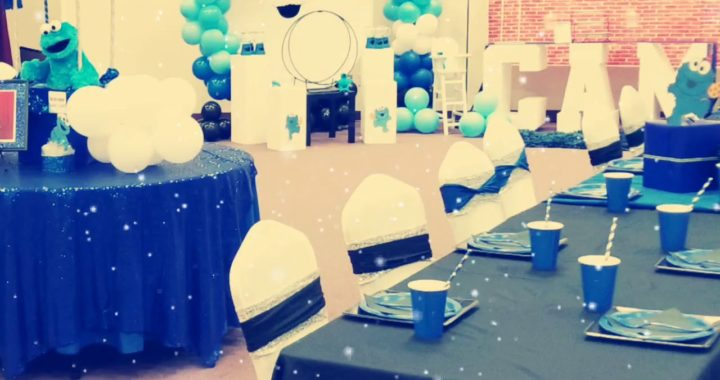 Cookie Monster Baby Shower