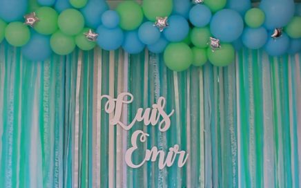 Decoración para Baby Shower niño