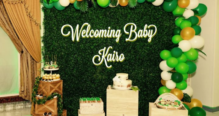 Event Decorating | SAFARI BABY SHOWER | Baby Shower Setup
