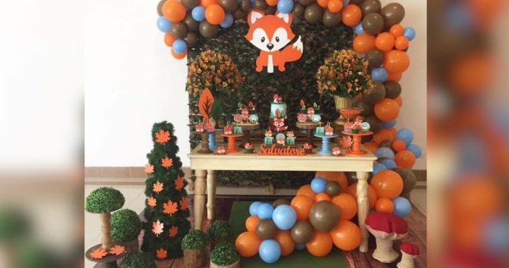 FIESTA Ó BABY SHOWER DE ZORRO 🦊|2019| FOX BIRTHDAY PARTY|CUMPLEAÑOS INFANTILES IDEAS MESA DE DILCES