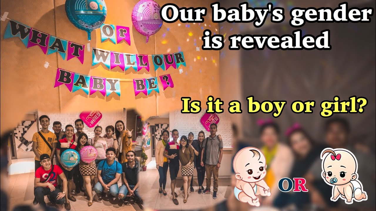 Gender Reveal / Baby Shower Party
