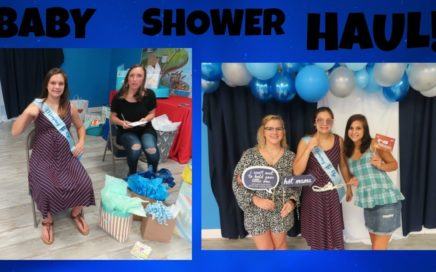 HUGE BABY SHOWER HAUL
