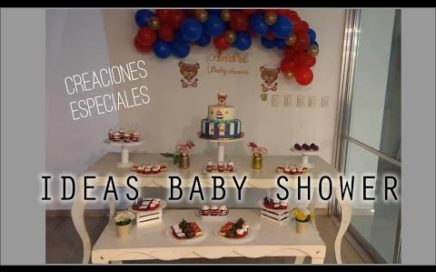 IDEA DE BABY SHOWER NIÑO