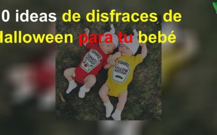 Ideas de disfraces de Halloween para tu bebé