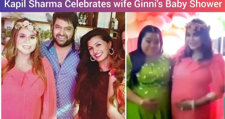 Kapil Sharma Celebrates wife Ginni Chatrath's Baby Shower with a lot more Masti
