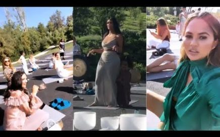 Kim Kardashian's CBD-Themed Baby Shower