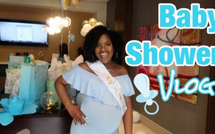 MY BABY SHOWER! | TROPHDOPH