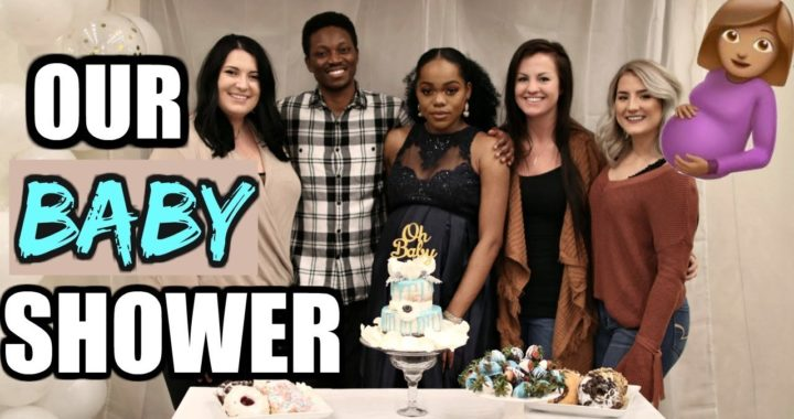 OUR BABY SHOWER | LIFE OF LUCH  VLOGS