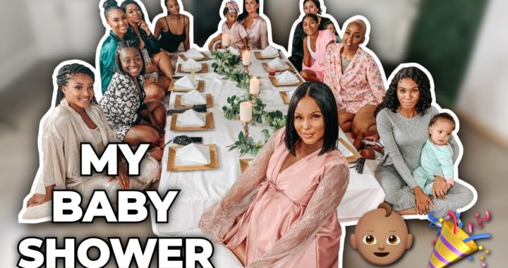 OUR BABY SHOWER + NAME REVEAL