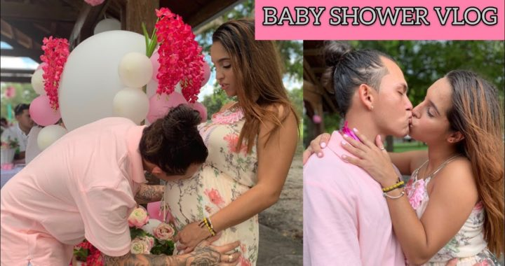 OUR OFFICIAL BABY SHOWER! | Vlog
