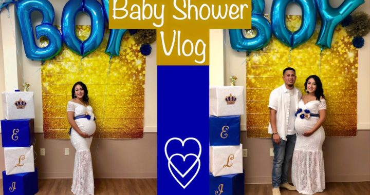 Our Baby Shower Vlog