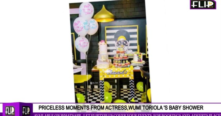 PRICELESS MOMENTS FROM ACTRESS, WUMI TORIOLA 'S BABY SHOWER
