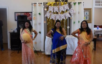 Shruti's Baby Shower - Surprise dance by Reshma, Meenakshi, Anuradha, Jasmin, Asha