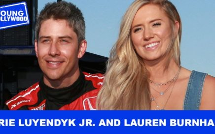 The Bachelor's Arie Luyendyk & Lauren Burnham Play Baby Shower Games!