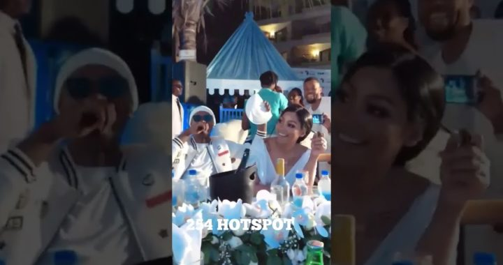 VERA SIDIKA ATTENDS TANASHA DONNA'S BABY SHOWER IN STYLE(with the new boyfriend)