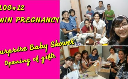 VLOG #12 TWIN PREGNANCY|| Surprise Baby Shower + Opening of Gifts + Shoutout ||I'm a Happy Mom PH