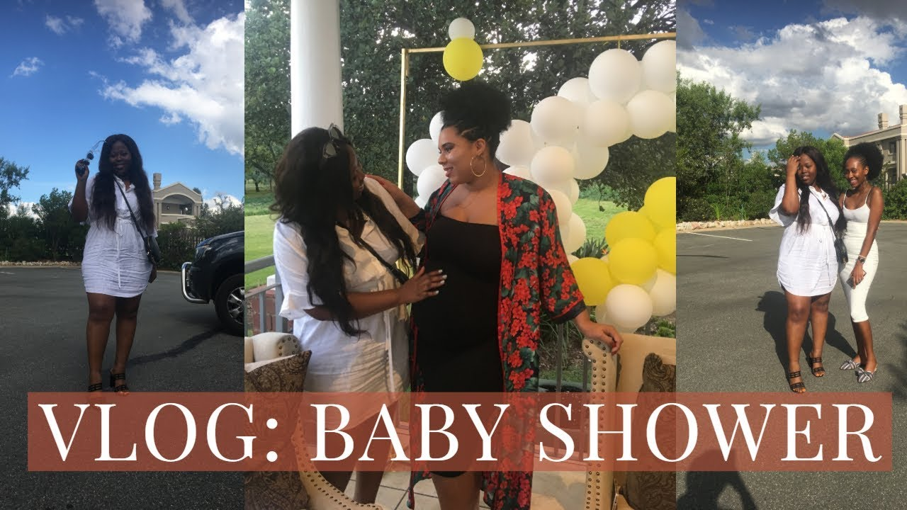 VLOG: JOINT BABY SHOWER