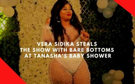 Vera Sidika steals the show with bare bottoms at Tanasha's baby shower