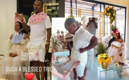 WATCH: Bontle Modiselle Surprise Baby Shower