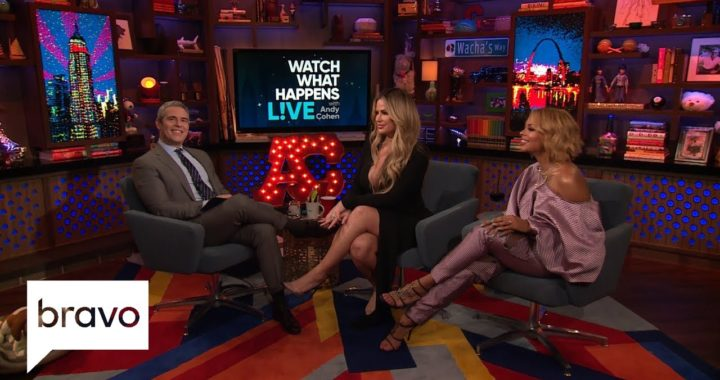 Why Kim Zolciak-Biermann Wasn't Invited To Andy Cohen's Baby Shower | WWHL | Bravo