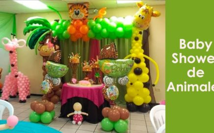 baby shower animales